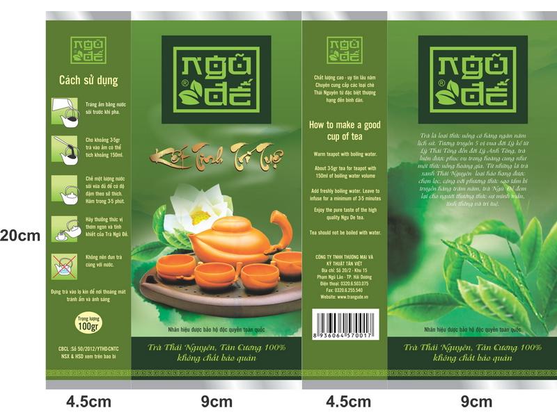 dịch vụ thiết kế logo trà