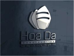 thiết kế logo kiến trúc Hoa Đá