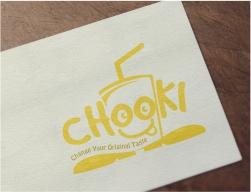 thiết kế logo nước chooki