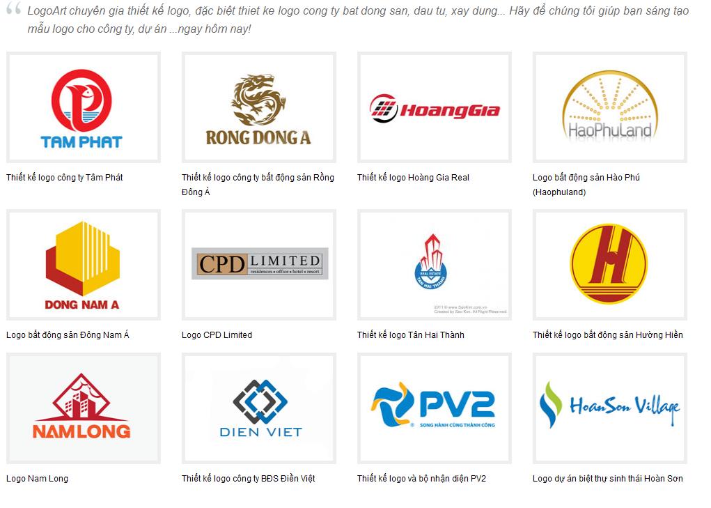 dịch vụ thiết kế logo đồng nai
