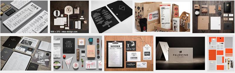 thiết kế bộ nhận dạng thương hiệu nhà hàng